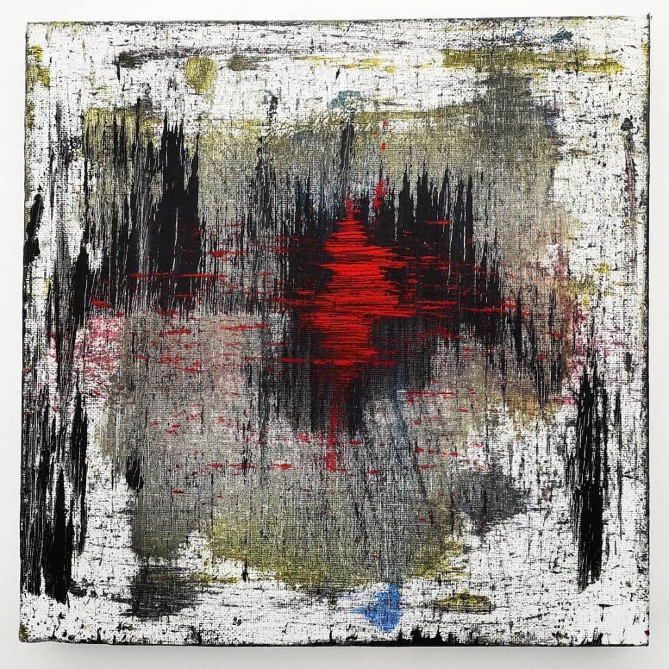 Acrylic on canvas 25-25
